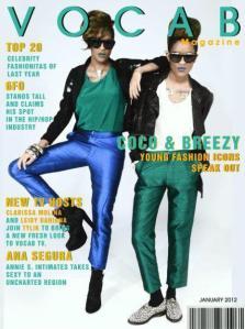 Coco & Breezy; styled by F. Rebbekah; Vocab Magazine; Jan 2012