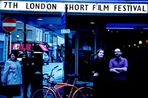MacKinnon with Philip Ilson at LSFF 2010