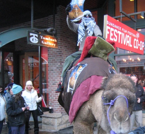 Anyextee's Sundance Entrance via camel