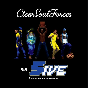 Fab 5ive Cover Art