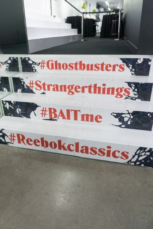 Los Angeles, CA Ð October 25, 2017 Ghostbusters X Reebok Launch Party at the BAIT store in Melrose