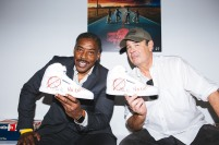 Los Angeles, CA Ð October 25, 2017 (L to R) Ernie Hudson and Dan Aykroyd seen at the Ghostbusters X Reebok Launch Party at the BAIT store in Melrose
