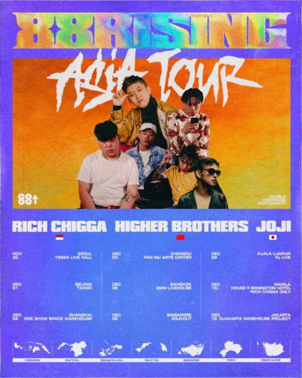 88rising Announces First Asia Tour With Rich Chigga, Higher