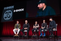 G-SHOCK 35th Anniversary Press Conference Panel _Photo Credit_ Ryan Muir