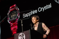 G-SHOCK 35th Anniversary Press Conference_Kikuo Ibe_Crystal Watch2 _Photo Credit_ Ryan Muir