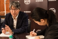 G-SHOCK 35th Anniversary_Kazuo Kashio Meeting _Photo Credit_ Ryan Muir